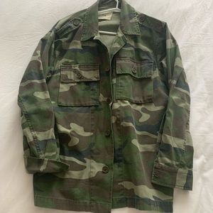 TNA tired & tested camo jacket